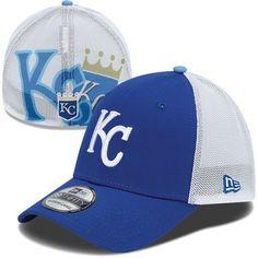 Kansas City Royals MLB New Era Double Up Stretch 39THIRTY Strech Fit Hat #royals #mlb #kansascity