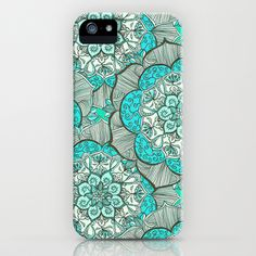 Fresh Doodle in my happy colors iPhone & iPod Case by micklyn - $35.00