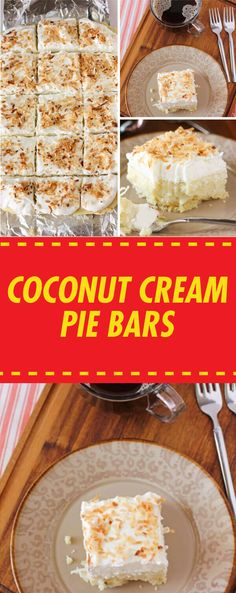 You can make so many different delicious desserts with coconut! Between the fruity and creamy coconut dessert recipes, you will always have a perfect recipe up your sleeve to satisfy any sweet tooth. From a dreamy Kokos Desserts, Coconut Desserts, Köstliche Desserts, Delicious Desserts, Dessert Recipes, Coconut Cookies, Coconut Cheesecake, Layered Desserts, Bar Recipes