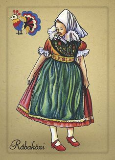 Hungary History, Hungarian Embroidery, Folk Dance, Music Decor, Vintage Paper Dolls, Folk Costume, Historical Clothing, Textile Patterns, The Past