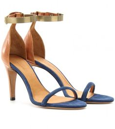 Isabel Marant ~ Adele Leather and Suede Sandals