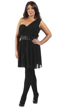 On ose la robe asymétrique grande taille, pour un look glamour mais pas  vulgaire! Disponible jusqu en taille 54 56  lovedrobe  grandetaille 296f42c08850
