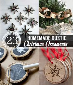 DIY Christmas Decorations and DIY Ornaments | 23 Homemade Christmas Ornaments - Pioneer Settler | Homesteading | Self Reliance | Recipes #DIYChristmas
