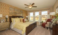 Twin Falls - Brookstone Collection: Master Bedroom