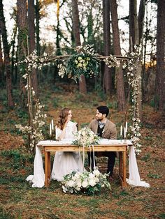 ] Romantic Elegance Wedding Inspiration Ideas Blush An Elegant Woodland Wedding Inspiration Shoot Sweetheart Table Dastin Decor Ideas An Elegant Woodland Wedding Inspiration Shoot Chic Vintage Brides Outdoor Wedding Reception, Wedding Ceremony, Wedding Arches, Outdoor Weddings, Reception Ideas, Picnic Weddings, Ceremony Arch, Outdoor Ceremony, Wedding Venues