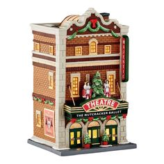 Gardening In The City Department 56 Xcyvl the Majestic Theatre Lit_house - A Dept 56 product USA artist designed Loved by everyone Christmas In The City, Christmas Village Display, Christmas Villages, Christmas Gifts For Women, Christmas Fun, Xmas, Christmas Scenes, Christmas Carol, White Christmas