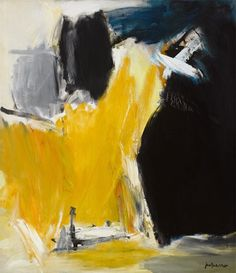 José Guerrero: Black Boundary, 1963 Action Painting, Abstract Painting Techniques, Abstract Paintings, Tapas, Abstract Art Images, Spanish Painters, 2d Art, Art Studies, Abstract Expressionism