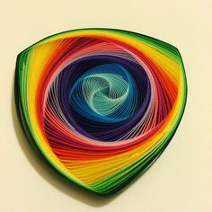 vortex coil quilling