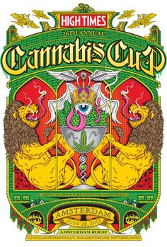 Official logo High Times Cannabis Cup 2013 Amsterdam