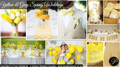 Yellow & Grey Spring Weddings Inspiration  -Submitted by Posh Weddings (Durban Wedding Supplier)  http://www.weddingscene.co.za/inspirations.html