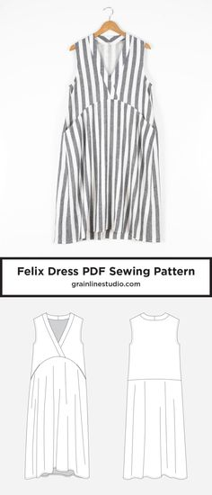 95 Best Sewing Dresses Images On Pinterest In 2018 Sew Dress