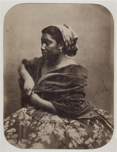 """Maria"" Portrait by Felix Nadar, Paris, c. Vintage Pictures, Old Pictures, Vintage Images, Old Photos, Photo Museum, Fine Art Photography, Portrait Photography, American Photo, Photo Vintage"