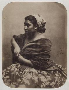 Portrait d'une antillaise, Maria  by Félix Nadar