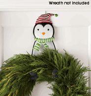 Penguin Wreath Holder