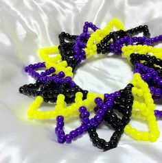 FREE SHIPPING Edm Festival 3D Kandi  by KandiKal on Etsy