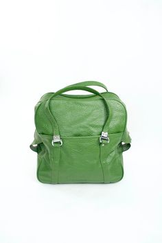 VTG 60s GREEN Overnight Case Travel Bag Luggage CarryOn on Etsy, $42.25