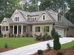 Exterior colors and driveway