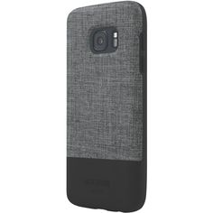 Jack Spade - Color-Block Case for Samsung Galaxy S7 - Black/Tech Oxford Gray, JSSA-002-TOGRY