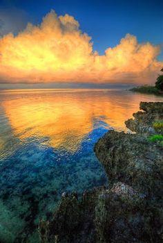 Sunrise in Panglao Beach, Bohol