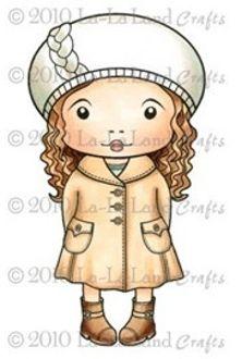 Winter Marci Rubber Stamp