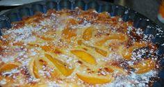 Receta de Tarta de queso con melocotón al microondas