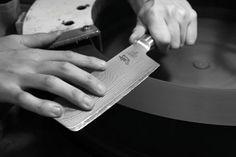 damascus steel knife sharping