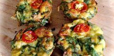 CREAMED CORN AND SPINACH (SILVERBEET) FRITTATAS - Cooking for Busy Mums