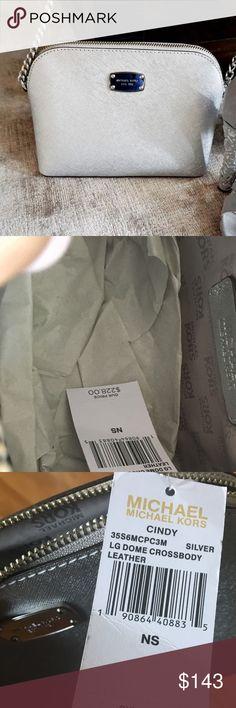 Michael Kors handbag Silver Michael kors handbag brand new with tags Michael Kors Bags Shoulder Bags