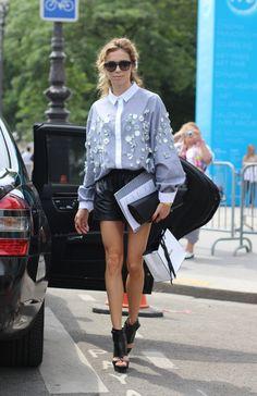 #Chanel shirt #shorts #mode #moda #women #paris #look #streetstyle #streetview #street #style #offcatwalk on #sophiemhabille