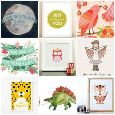 etsy : My Favorite Places to Shop for Art for Kids' Spaces