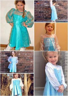 Sewing: Elsa Frozen Everyday Princess Dress