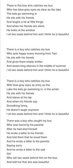 Not mine but very meaningful poem