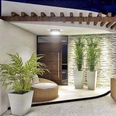 Modern House Design 709246641305293319 - House exterior design 832884524825503958 Source by Entrance Design, House Entrance, Door Design, Entrance Decor, Entrance Ideas, Modern Entrance, Modern Entryway, Entrance Hall, Minimalist House Design