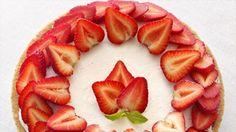 No-Bake Strawberry Cheesecake sugar free