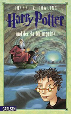 Harry Potter and the Half-Blood Prince German Cover