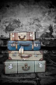 the suitcase, oh the places it has been.