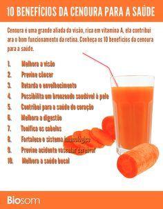 Clique na imagem para ver os 10 benefícios incríveis da cenoura para saúde…