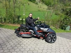 Can Am Spyder, Motorcycle, Vehicles, Motorcycles, Car, Motorbikes, Choppers, Vehicle, Tools