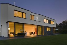 Gartenseite : Moderne Häuser von .rott .schirmer .partner