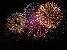 Fourth of July Fireworks around Durand, MI