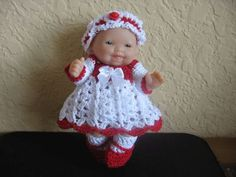 "Itty Bitty Baby Doll Clothes pour 5 ""Berenguer Doll"