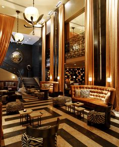 The glamorous Empire Hotel, New York City | Laurel & Wolf