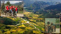 ADVENTURE OF THE BIG LOOF BY MOTOBIKE_ Motorcycling adventure in Northern Vietnam.  LET'S GO TO VIETNAM_Autumn is the best season to explore the majestic mountain scenery of northern Vietnam.  http://www.activetravelvietnam.com/tour.php?op=detail=66