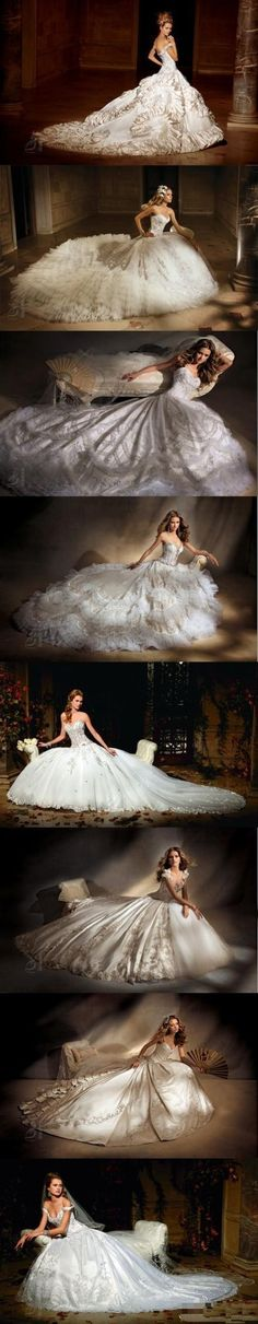Eve of Milady Wedding Dress Collection
