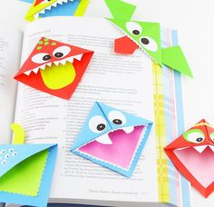 kid-friendly origami crafts // kids craft ideas