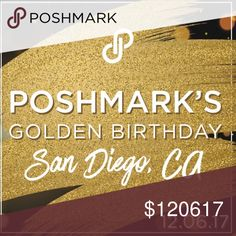 RSVP today! Join us for a Posh Party! Poshmark turns 6 this year! Come celebrate this golden birthday with us! @noy2312 and @kbbygirl and I would love for you to join in! Sign up by liking and commenting. Spread the word! We look forward to seeing you there!  Here's the link to RSVP!  https://www.eventbrite.com/e/poshmarks-6th-birthday-celebration-tickets-39904750182 PoshmarkTurns6 Other
