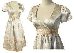 Vintage 60s Dress Wilson Folmar Silk Babydoll by metroretrovintage, $195.00