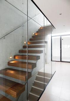 Modern Flur, Diele & Treppenhaus Bilder: Haus MD
