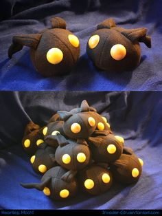 Heartless Mochi by invader-gir on DeviantArt Fun Crafts, Diy And Crafts, Arts And Crafts, Diy Sewing Projects, Sewing Crafts, Diy Plush Toys, Anime Crafts, Kingdom Hearts Art, Plushie Patterns
