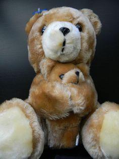 """Dakin Nature Babies """"Mama & Baby Brown Bear"""" Brown Plush Bear Stuffed Animals #Dakin"""